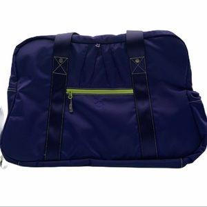 Athleta Warm Up Gym Bag Cobalt Blue